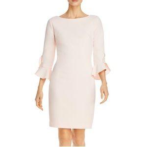 Karl Lagerfeld Paris Scuba Sheath Dress
